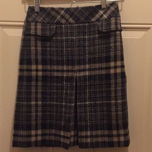 Skirt Black and Tan plaid